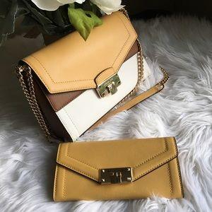 Michael Kors kinsley shoulder/Crossbody bag&wallet